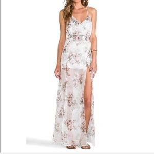 For Love and Lemons Victorian Maxi Dress Large